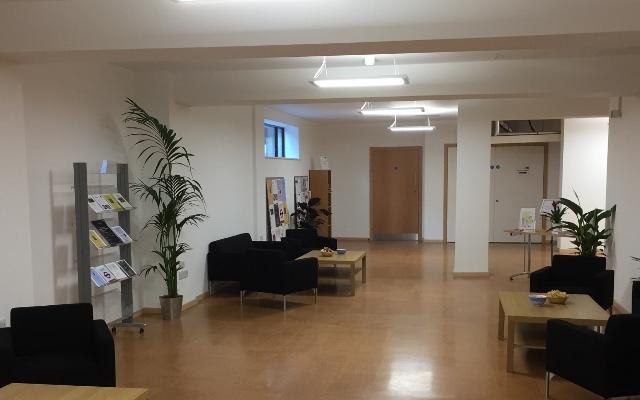 English Faculty foyer