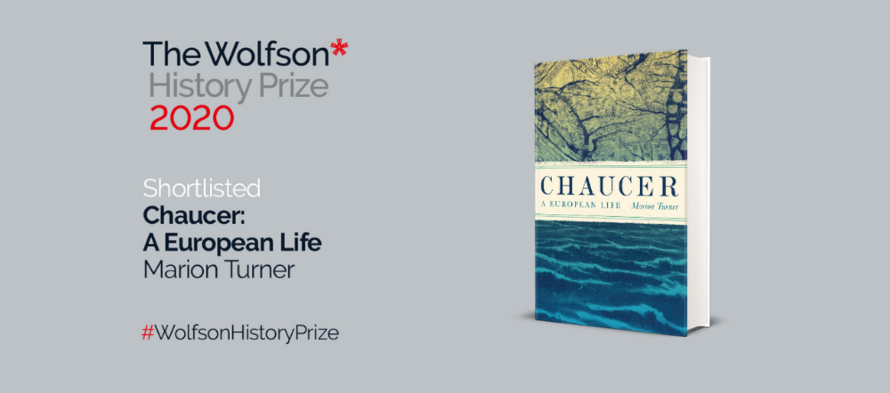 Chaucer biography shortlisted for Wolfson History Prize