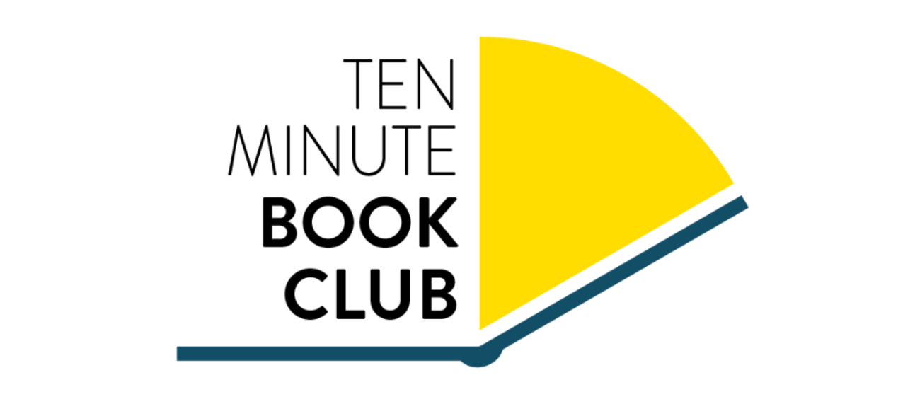Ten-minute Book Club logo