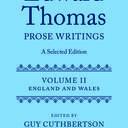 edward thomas prose writings book cover
