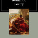 reading romantic poetry book cover
