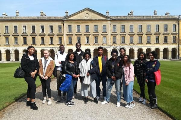 Group of students at Magdalen College