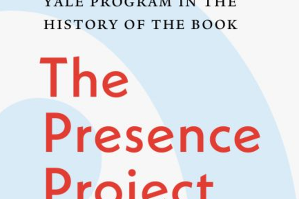 Yale Program in the History of the Book promotional poster