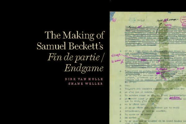 Samuel Beckett endgame cover