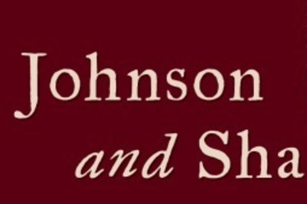 johnson and shakespeare exhibition logo
