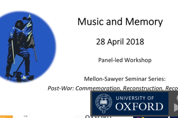 music and memory panel led workshop