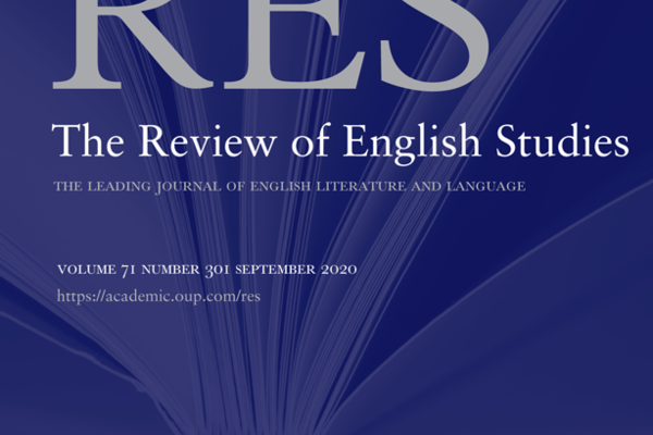 Review of English Studies cover