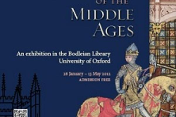 Exhibition poster for Romance in the Middle Ages