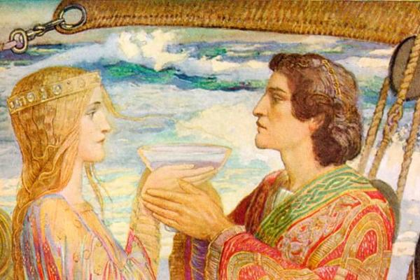 Tristan and Isolde by John Duncan