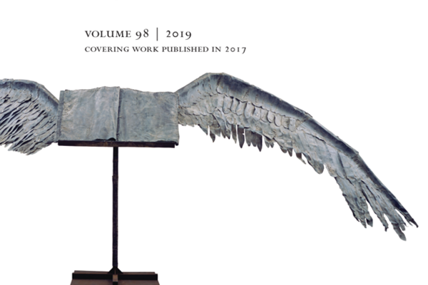 The Year's Work in English Studies cover