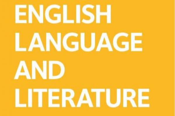 english logo single