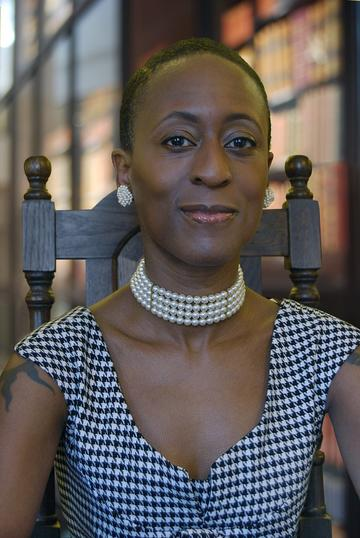 Photo of Patience Agbabi