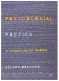 postcolonial poetics book cover