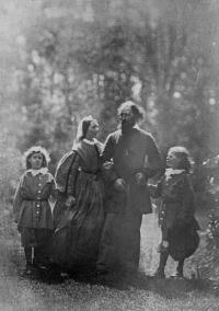 Tennyson and family